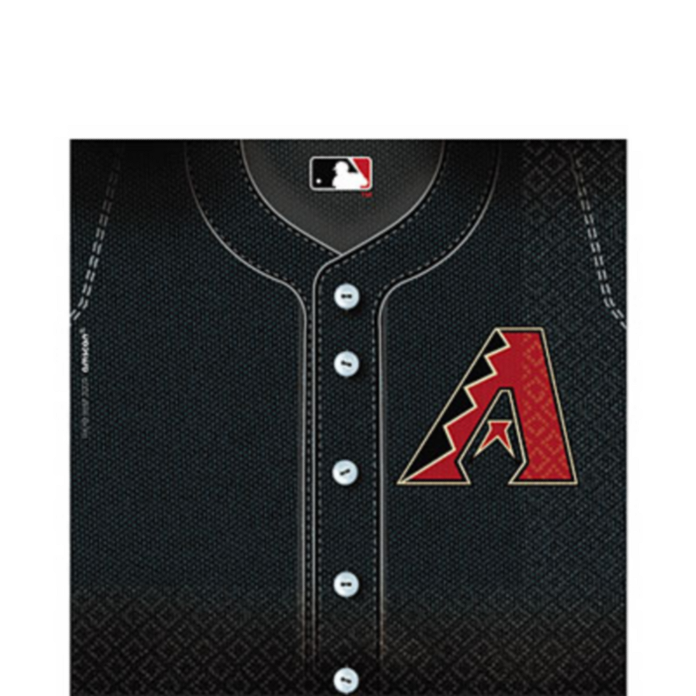 Nav Item for Arizona Diamondbacks Lunch Napkins 36ct Image #1