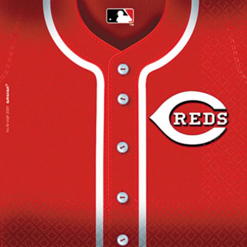 Cincinnati Reds Lunch Napkins 36ct Image #1