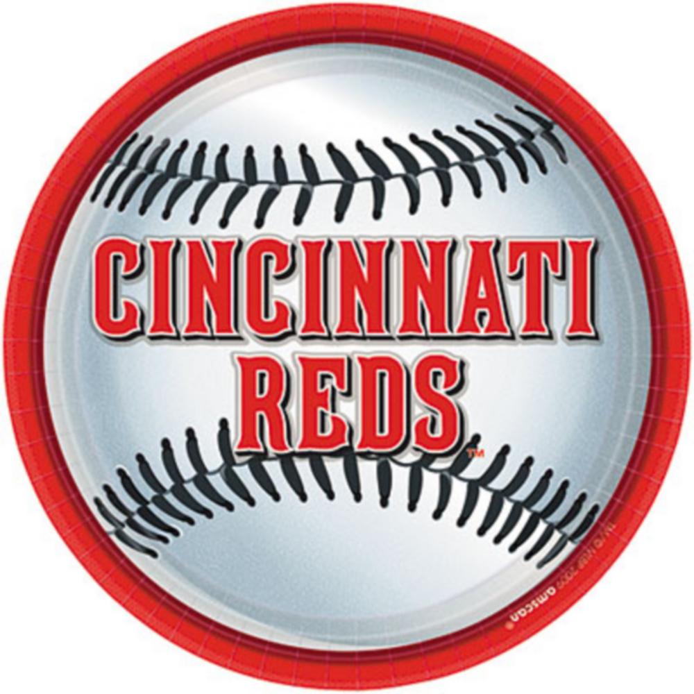 Cincinnati Reds Lunch Plates 18ct Image #1