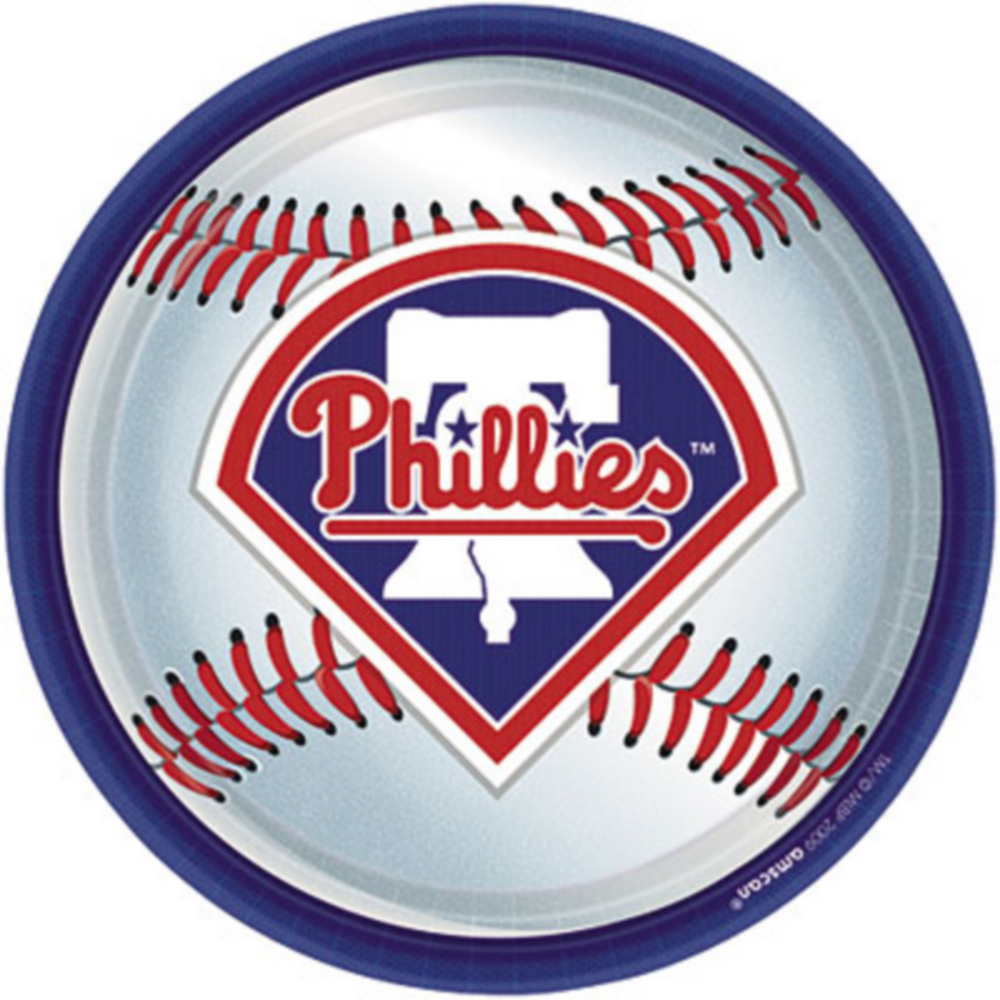 Philadelphia Phillies Lunch Plates 18ct Image #1