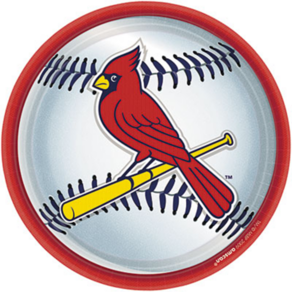 St. Louis Cardinals Lunch Plates 18ct Image #1