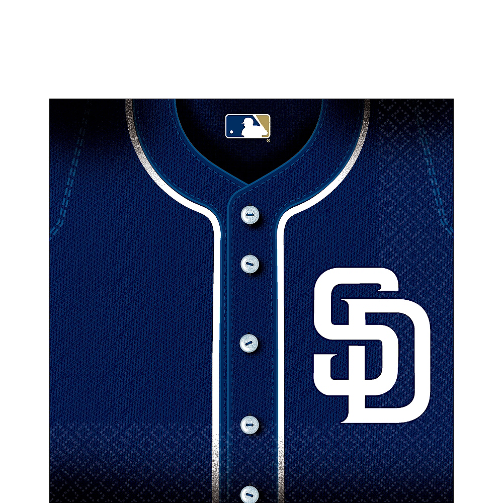 San Diego Padres Lunch Napkins 36ct Image #1