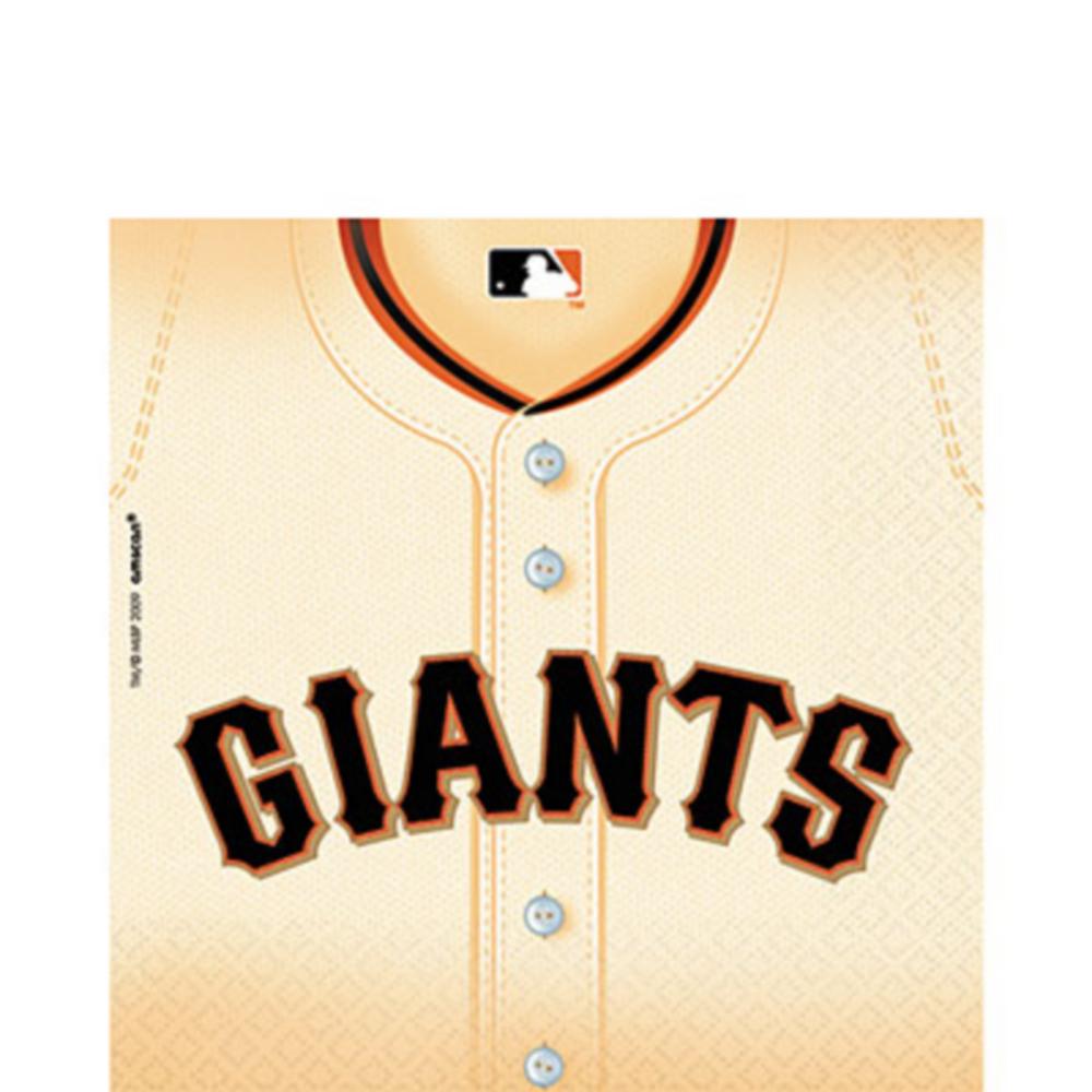 San Francisco Giants Lunch Napkins 36ct Image #1