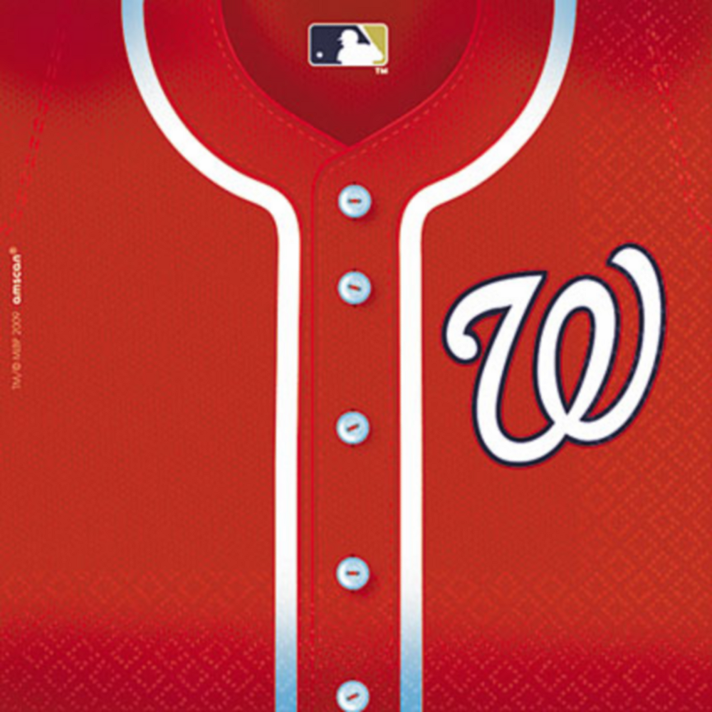 Washington Nationals Lunch Napkins 36ct Image #1