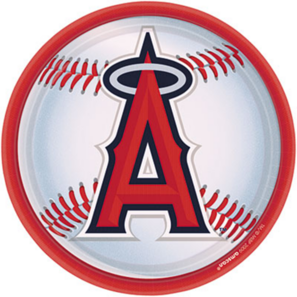 Los Angeles Angels Lunch Plates 18ct Image #1