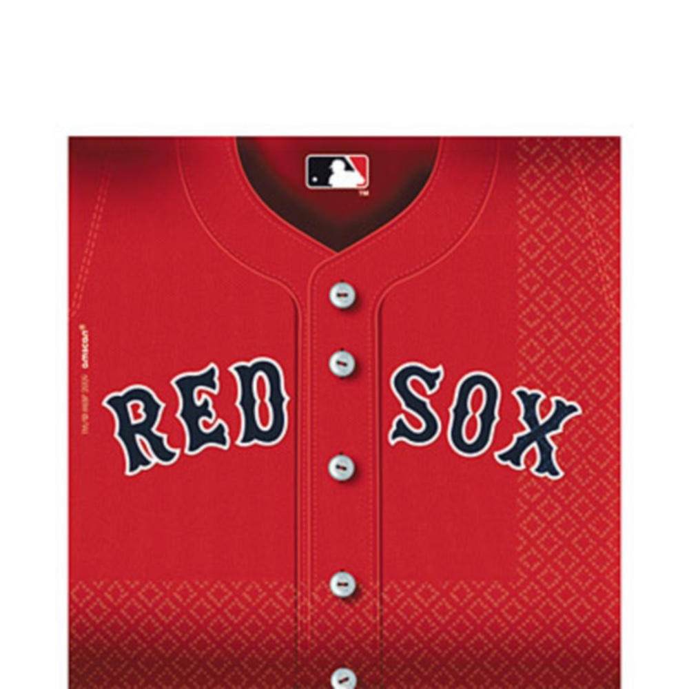 Boston Red Sox Lunch Napkins 36ct Image #1