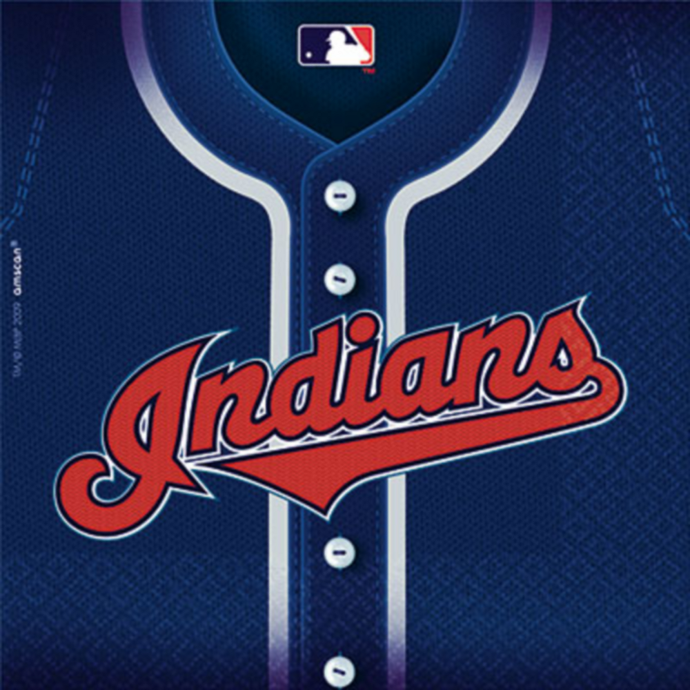 Cleveland Indians Lunch Napkins 36ct Image #1