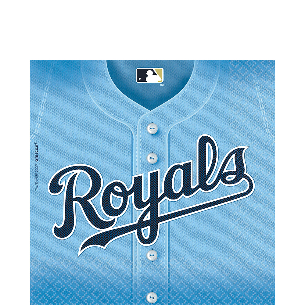 Kansas City Royals Lunch Napkins 36ct Image #1