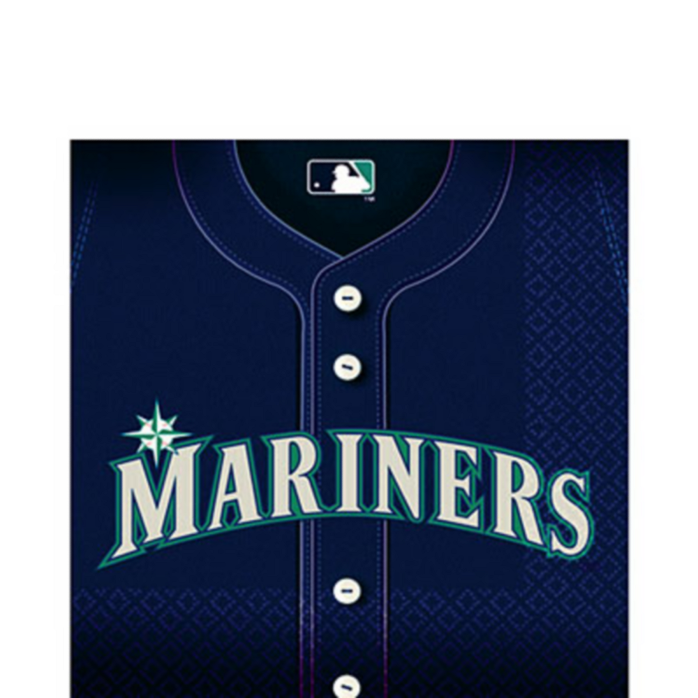 Seattle Mariners Lunch Napkins 36ct Image #1