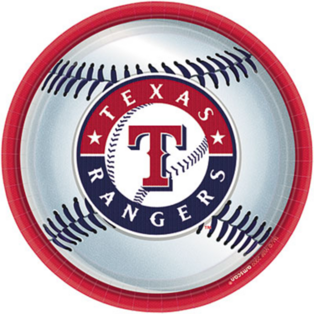 Texas Rangers Lunch Plates 18ct Image #1