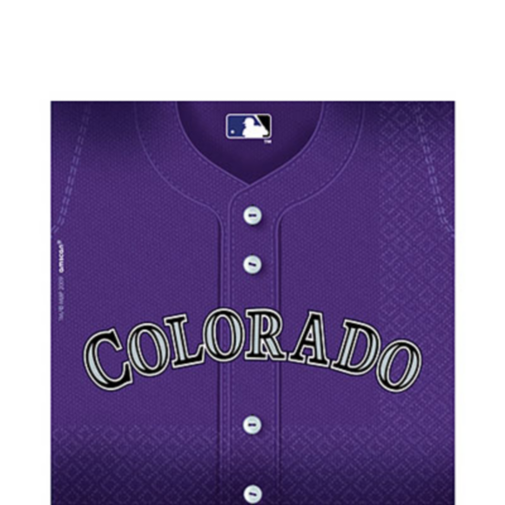 Colorado Rockies Lunch Napkins 36ct Image #1
