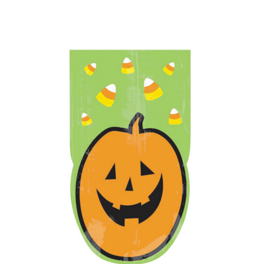 Pumpkin Party Bags 20ct Image #1