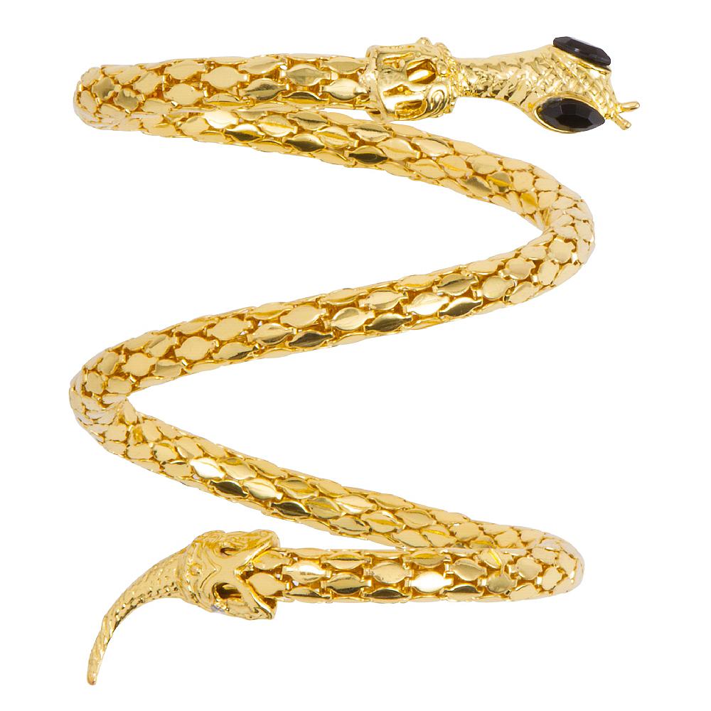 Gold Snake Armband Image #1