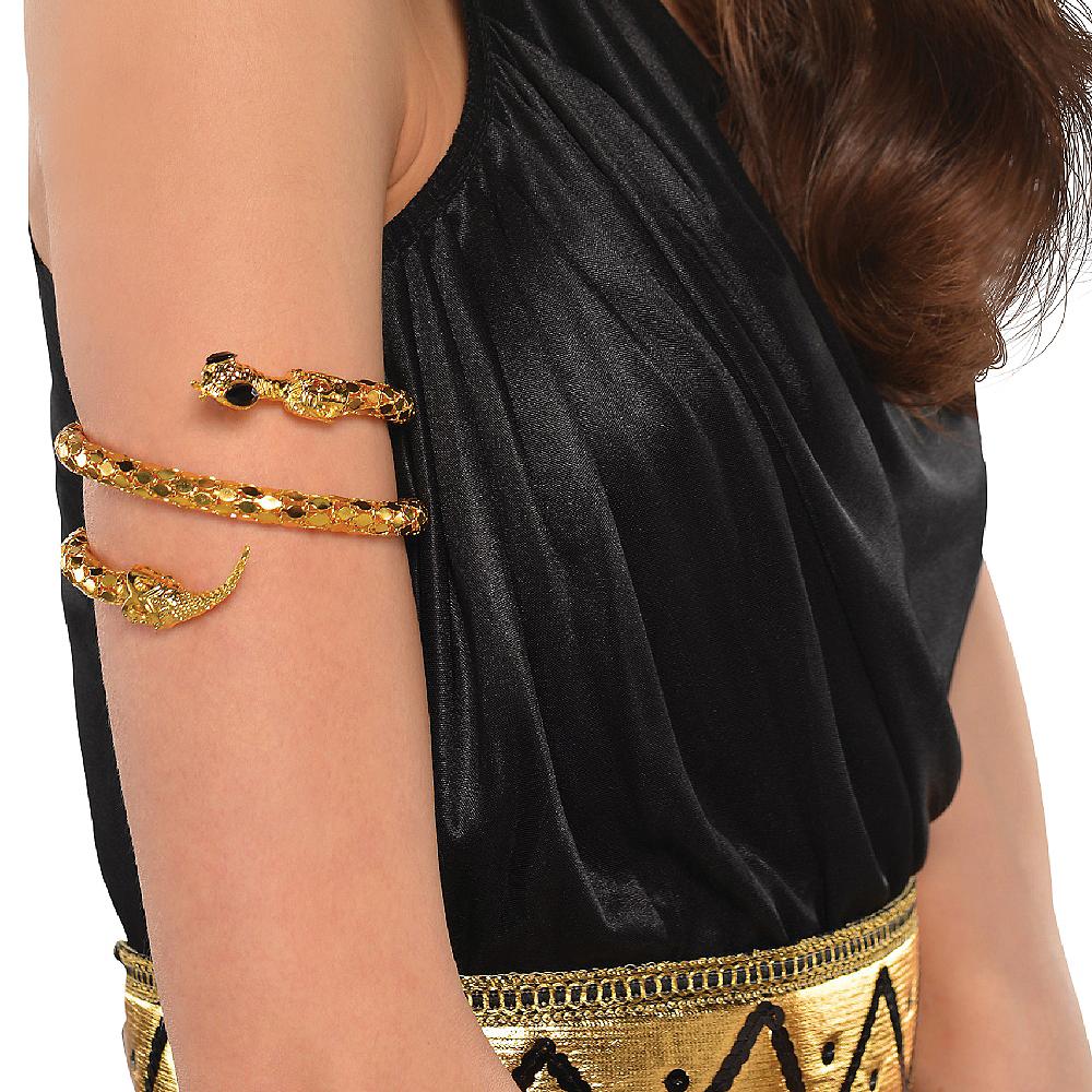 Gold Snake Armband Image #2