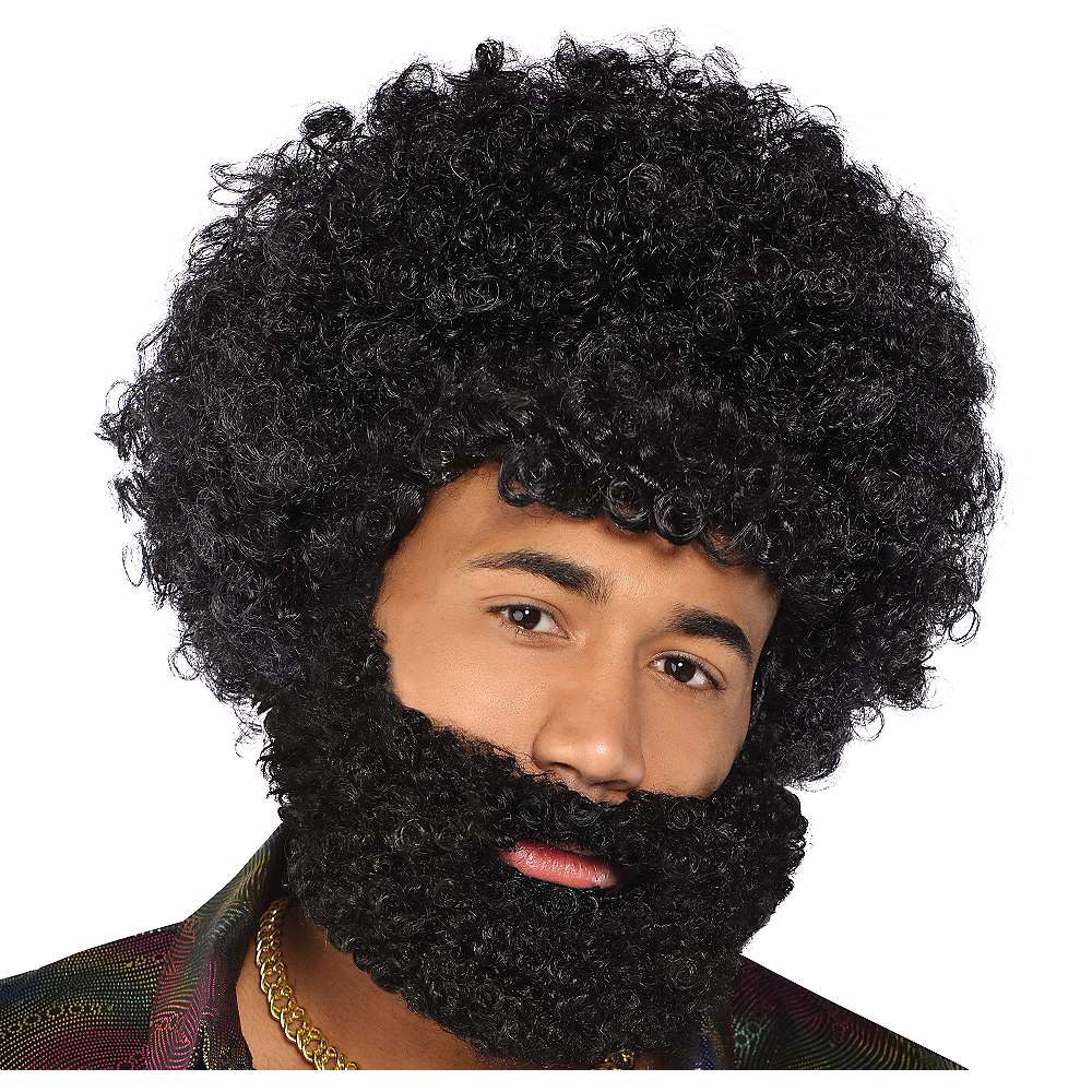 Nav Item for Black Afro Beard Image #1