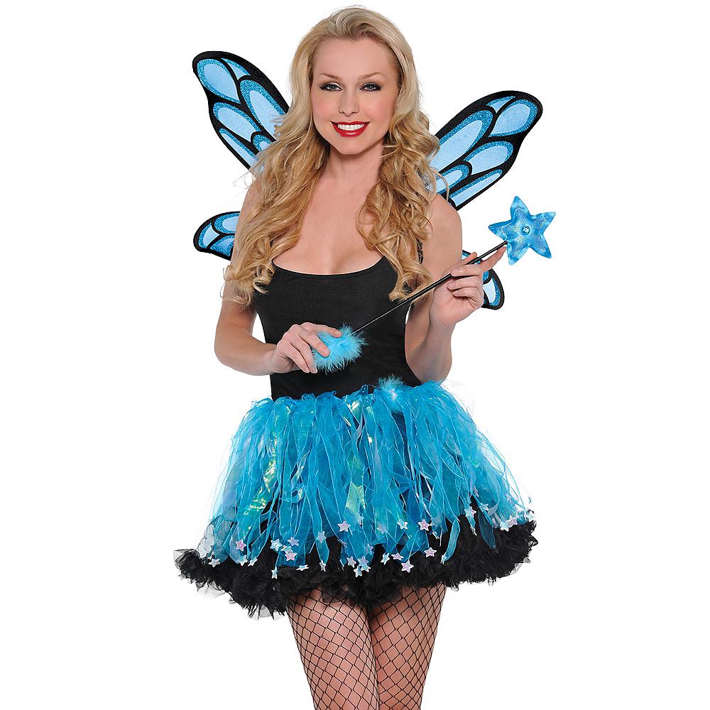 Blue Sparkle Fairy Accessory Kit Image #1