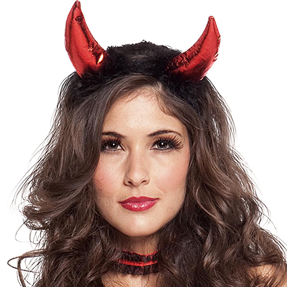 Clip-on Sequin Devil Horns Image #2
