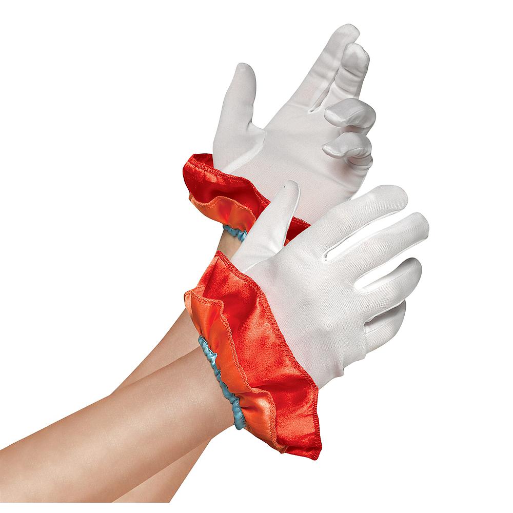 Girl Clown Gloves Image #1