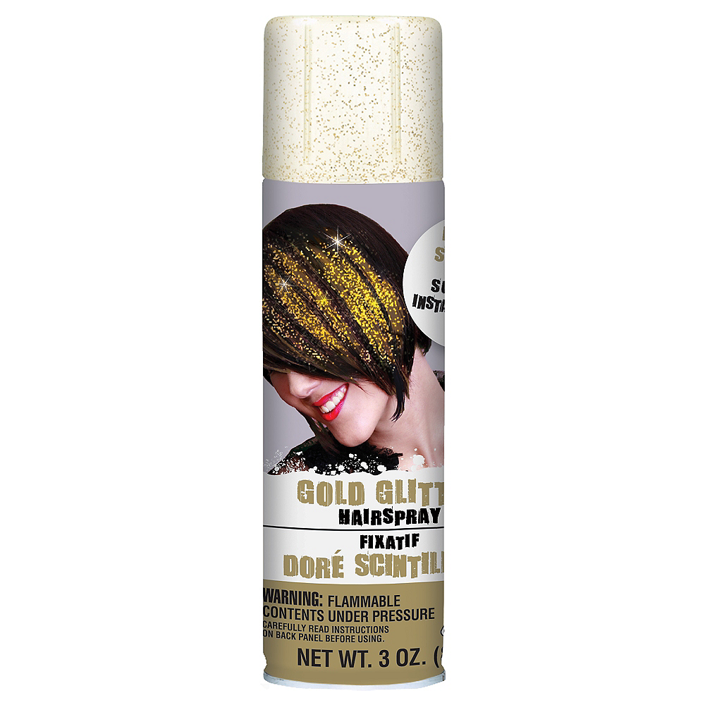 Nav Item for Glitter Gold Hair Spray Image #1