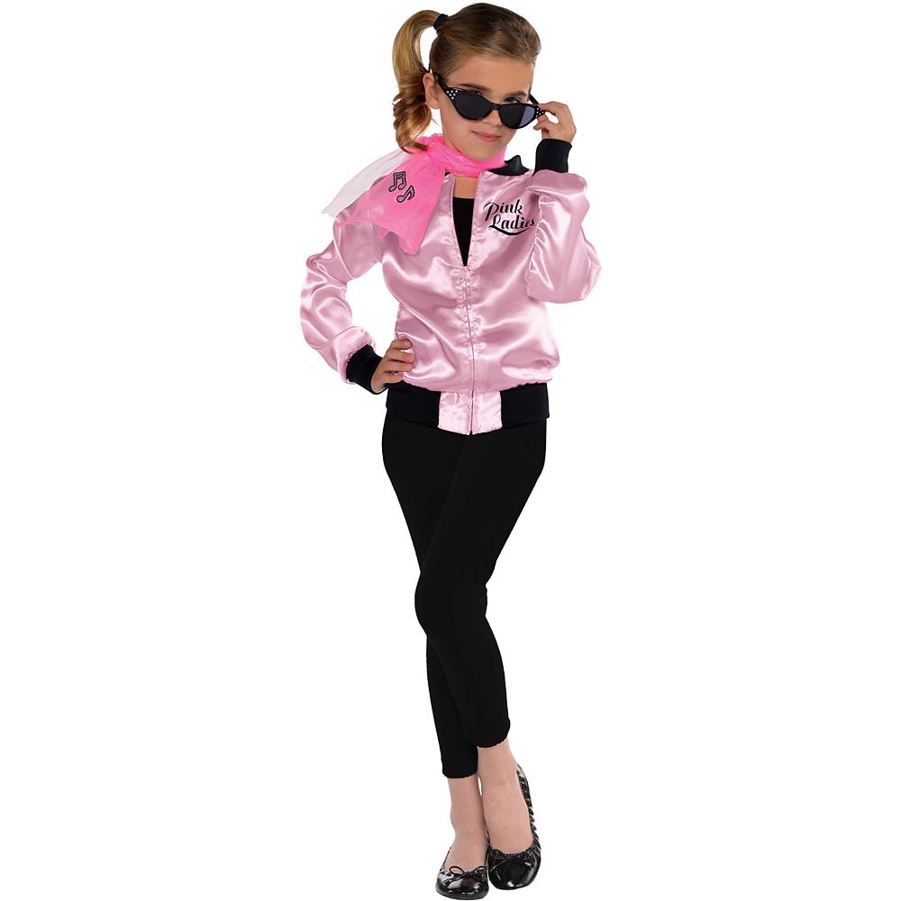 Girls Pink Ladies Jacket Image #1