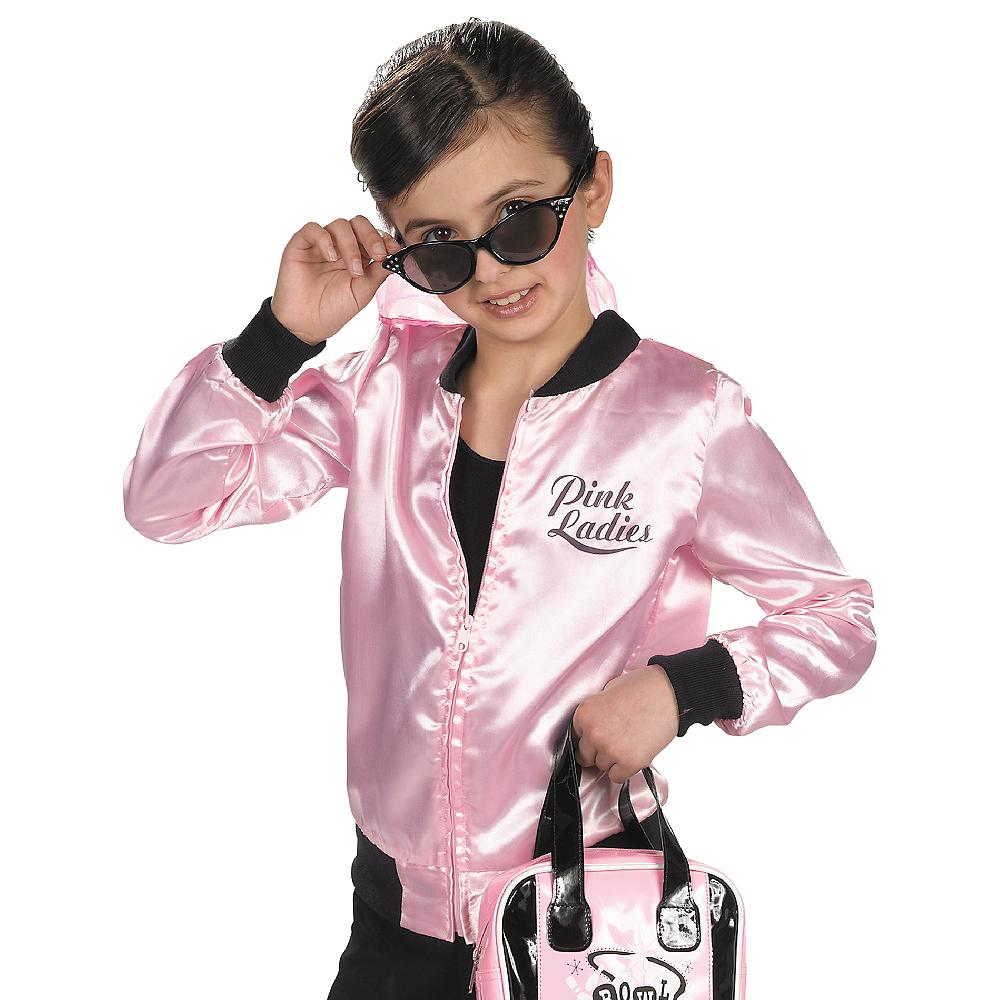 Girls Pink Ladies Jacket Image #3