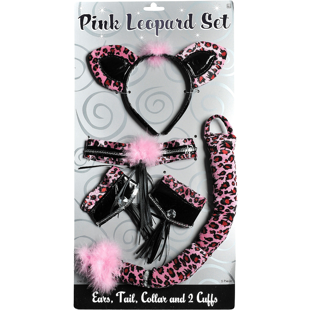 Pink Leopard Accessory Kit Image #3