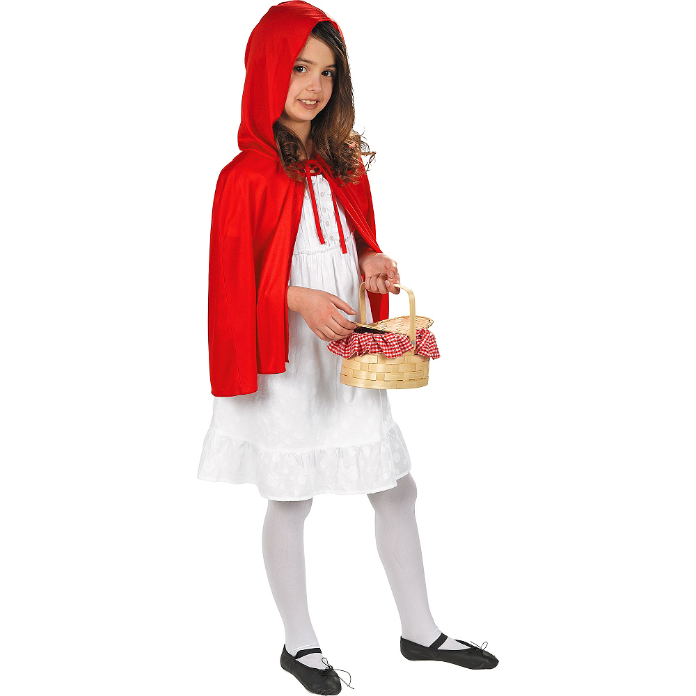 Adult Red Riding Hood Cape Image #2