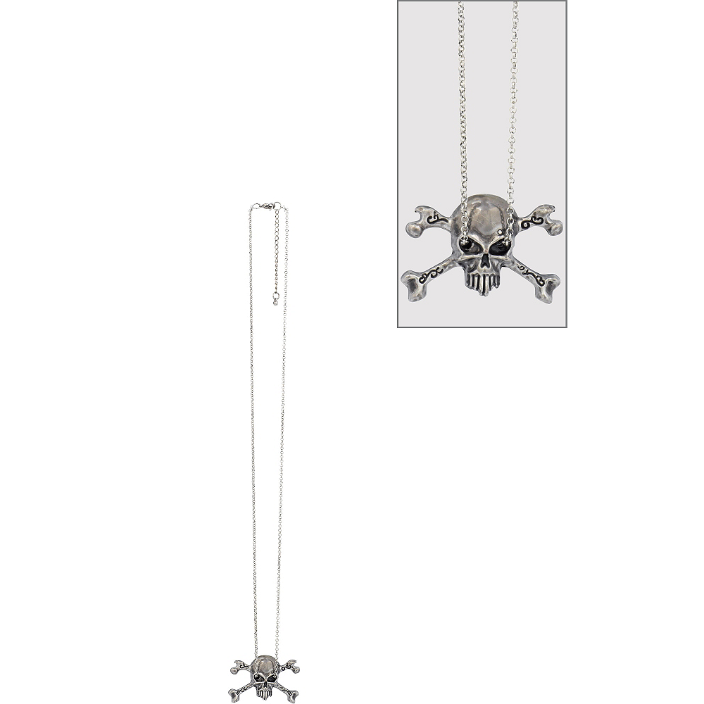 Skull & Crossbones Necklace Image #1