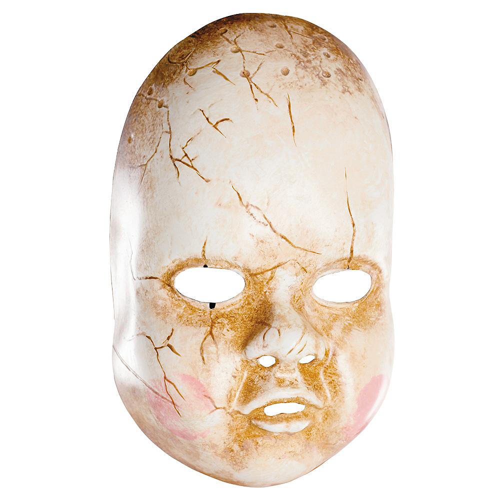 Creepy Baby Doll Mask Image #1