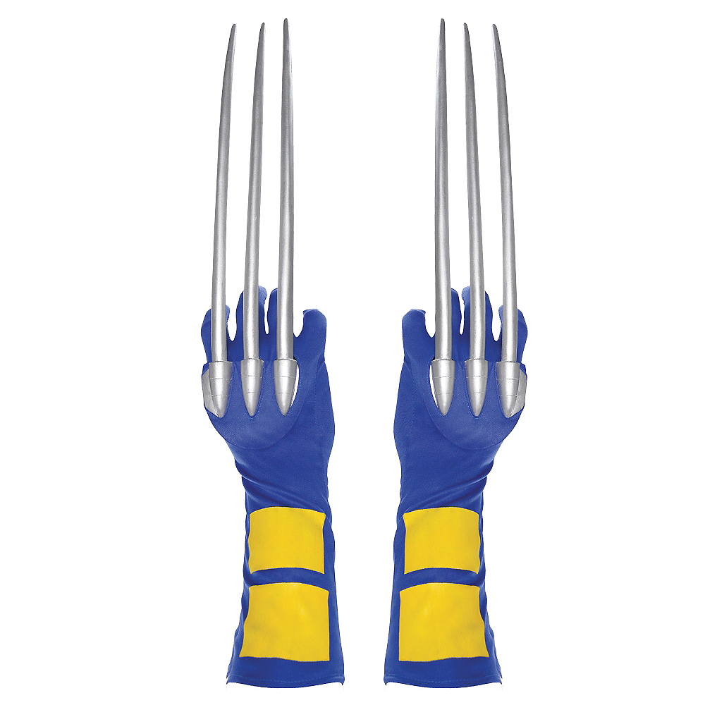 Nav Item for Adult Adamantium Wolverine Claws Image #1