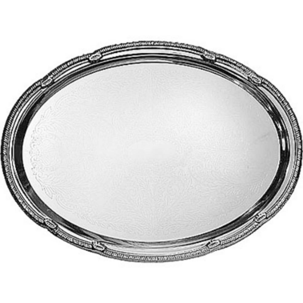 Chrome Oval Platter Image #1