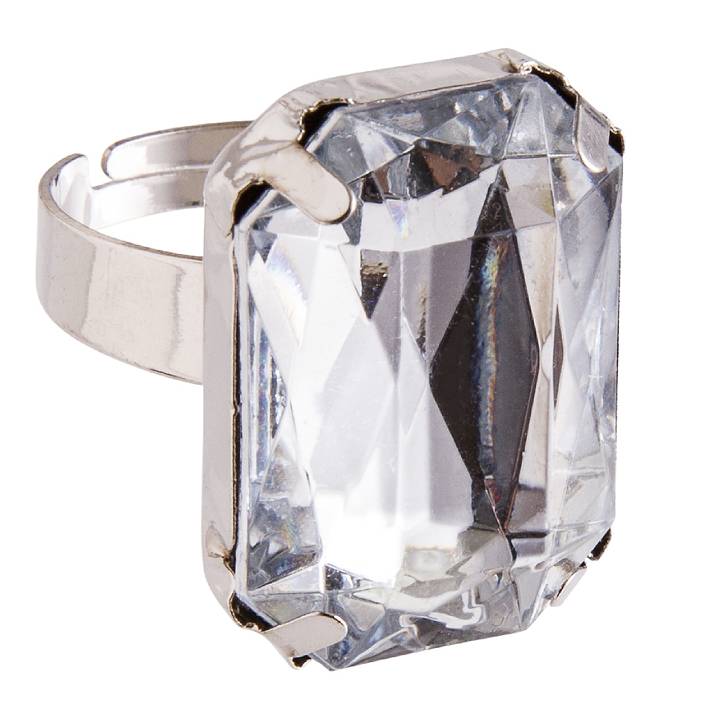 Faux Diamond Ring Image #1