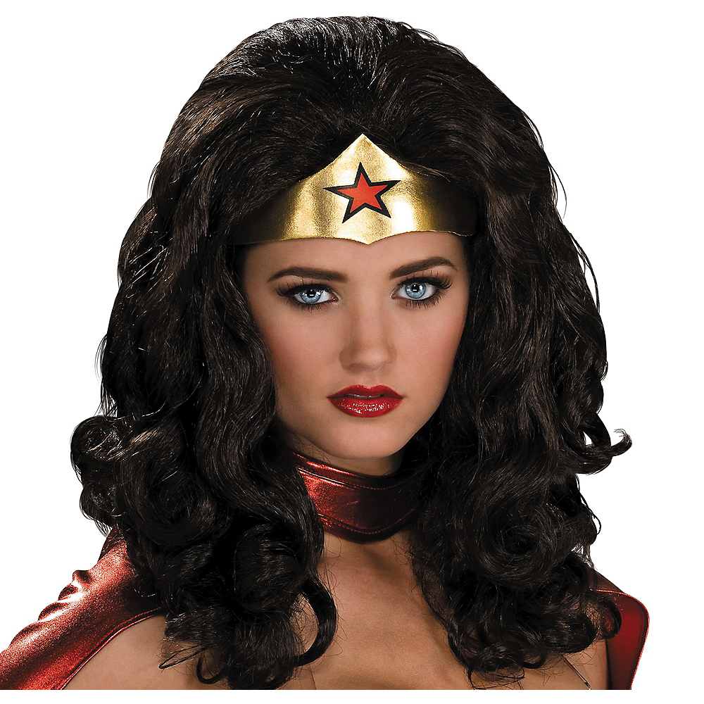 Wonder Woman Wig Image #1