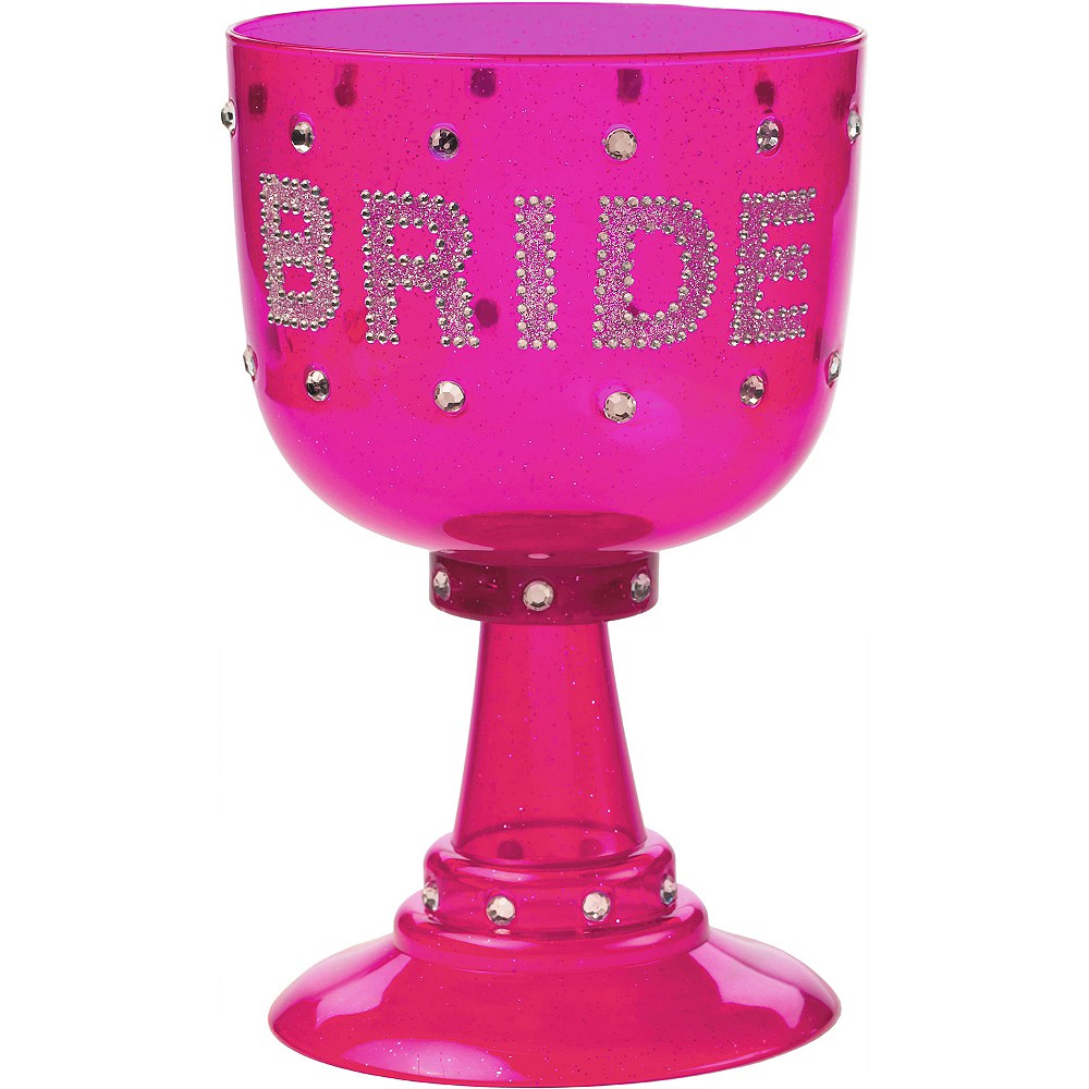 Nav Item for Rhinestone Bride Cup Image #1