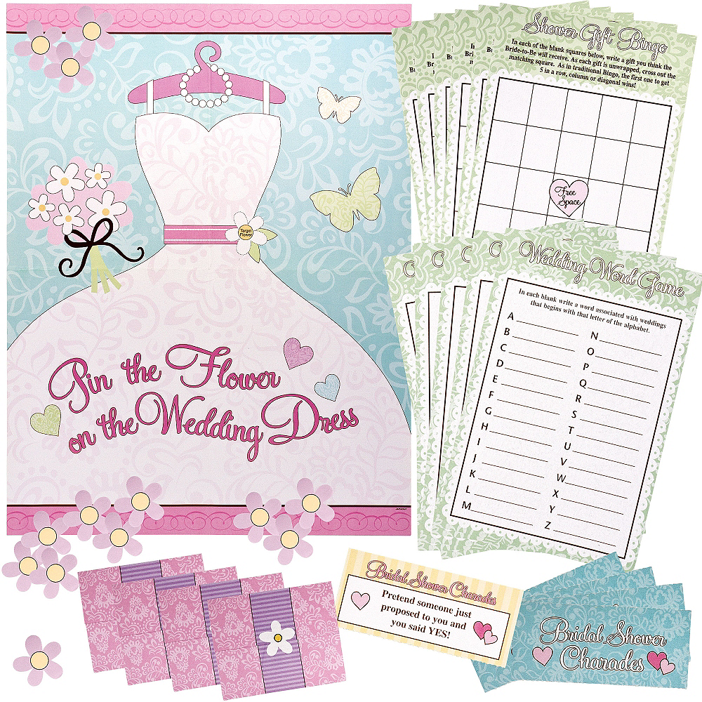 bridal shower games kit