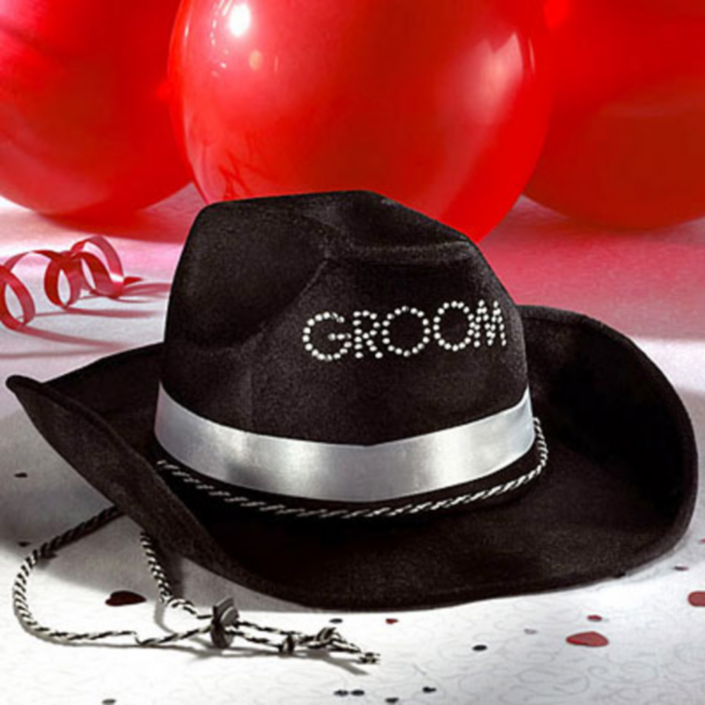 Nav Item for Groom Cowboy Hat Image #1