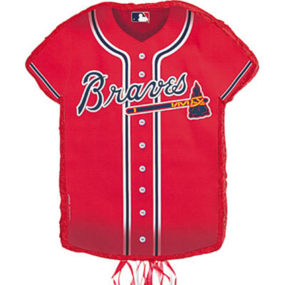 Nav Item for Pull String Atlanta Braves Pinata Image #1