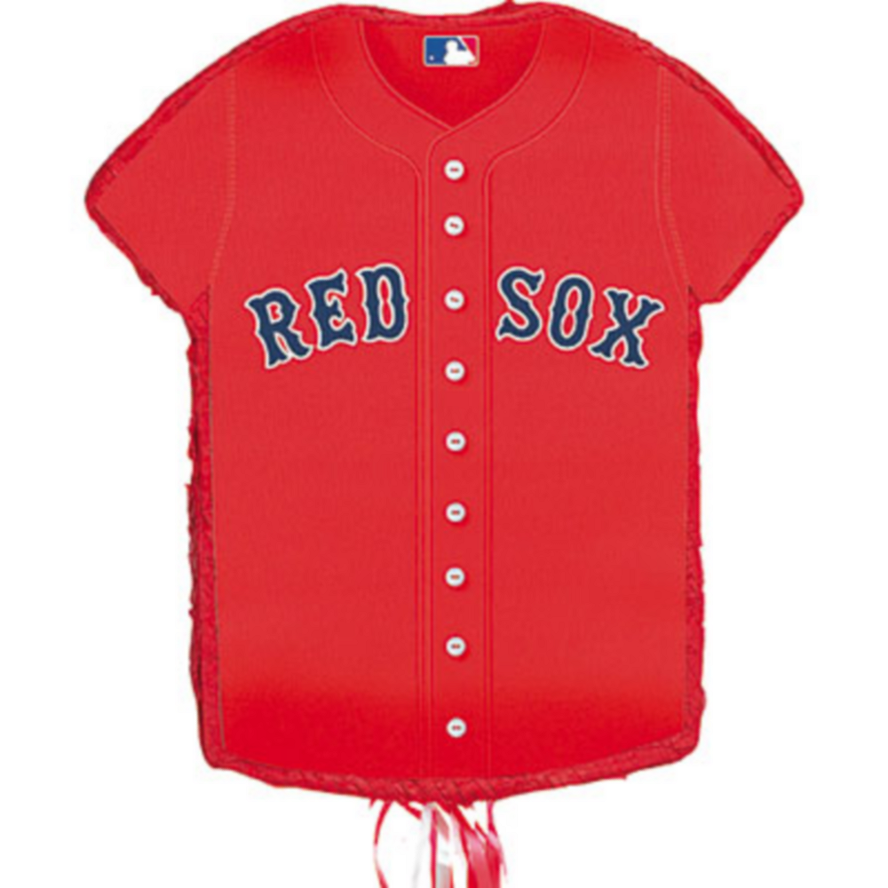 Nav Item for Pull String Boston Red Sox Pinata Image #1