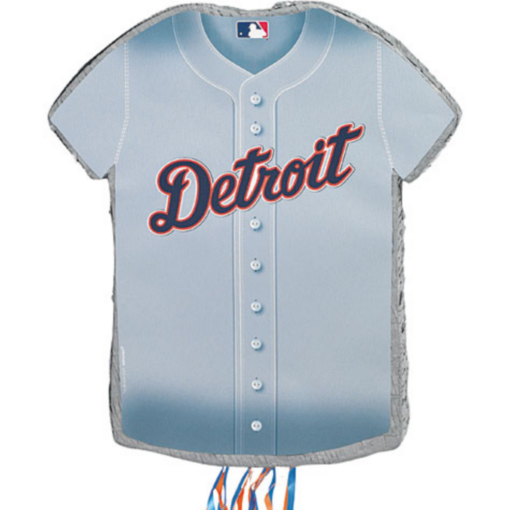 Nav Item for Pull String Detroit Tigers Pinata Image #1