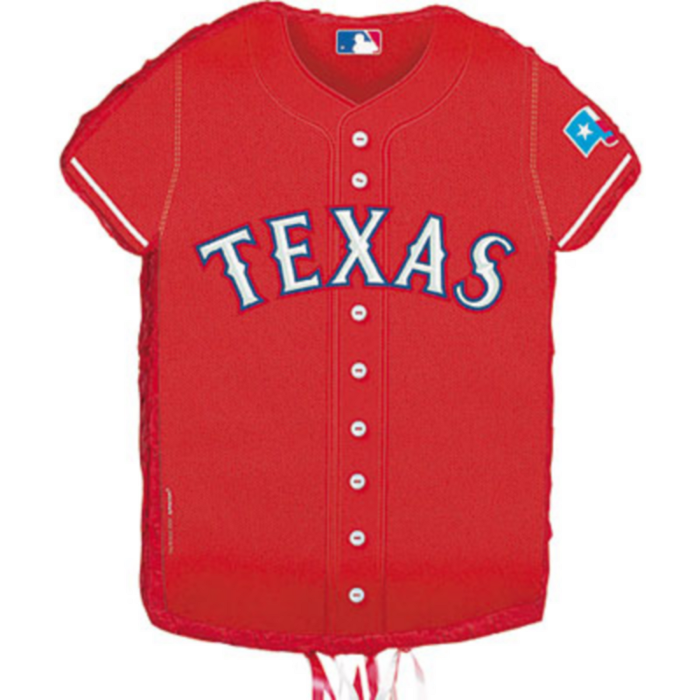 Nav Item for Pull String Texas Rangers Pinata Image #1