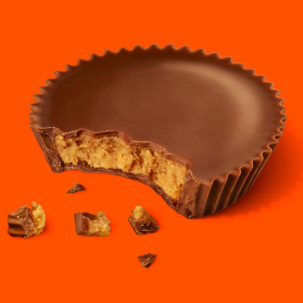 Milk Chocolate Reese's Peanut Butter Cup Snack Size Chocolates 14ct Image #3