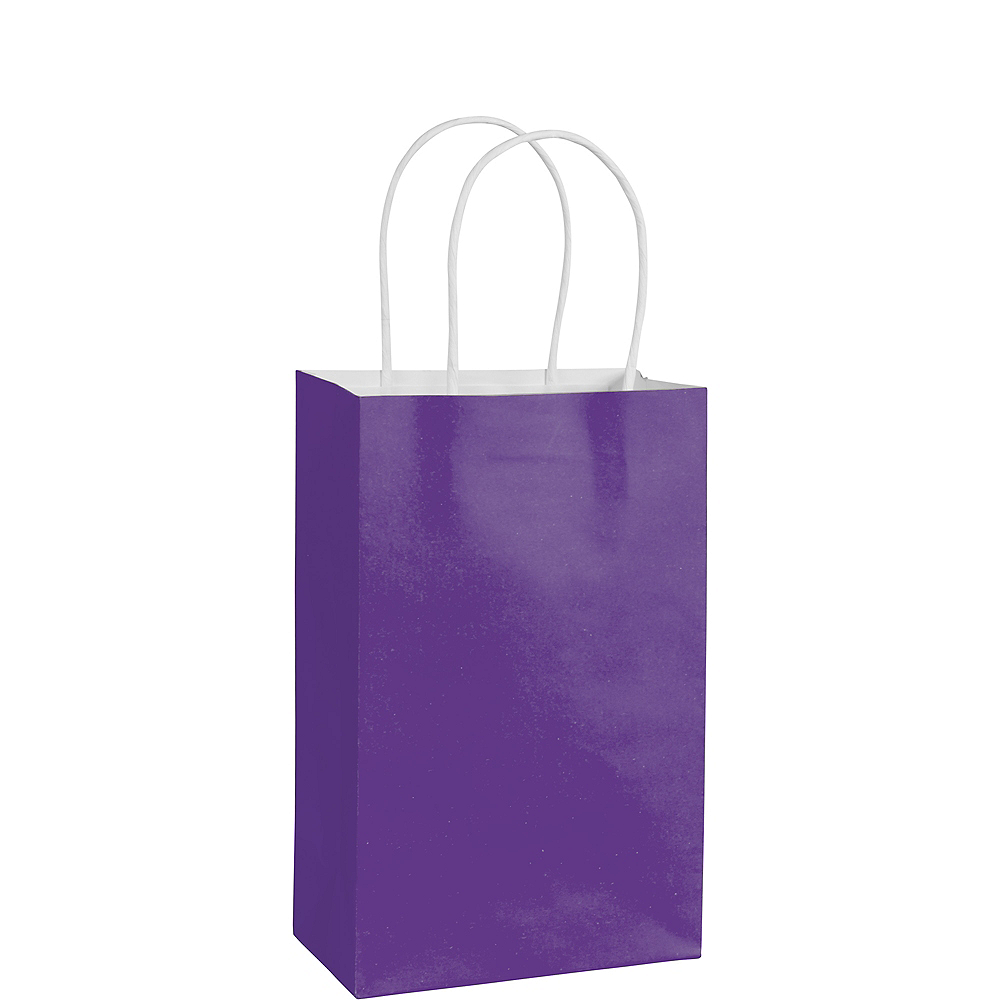 Nav Item for Small Purple Paper Gift Bag Image #1