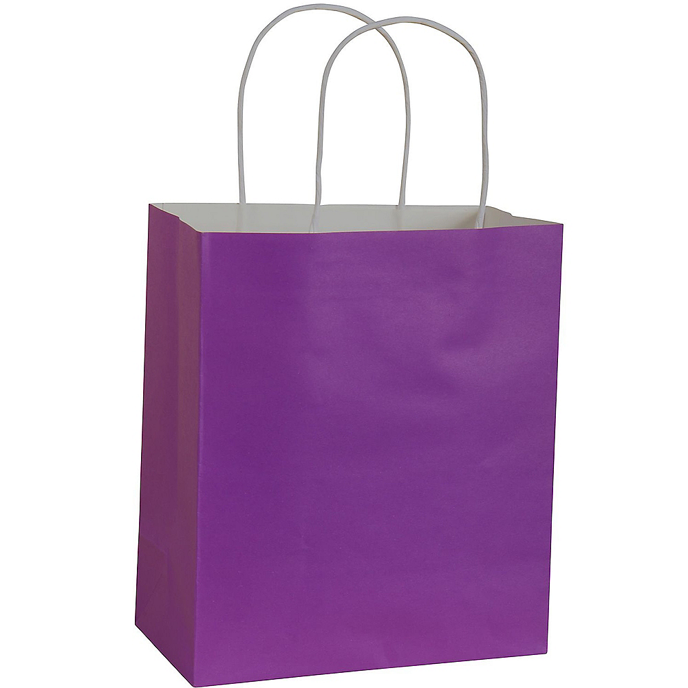 official sneakers latest discount Medium Purple Paper Gift Bag