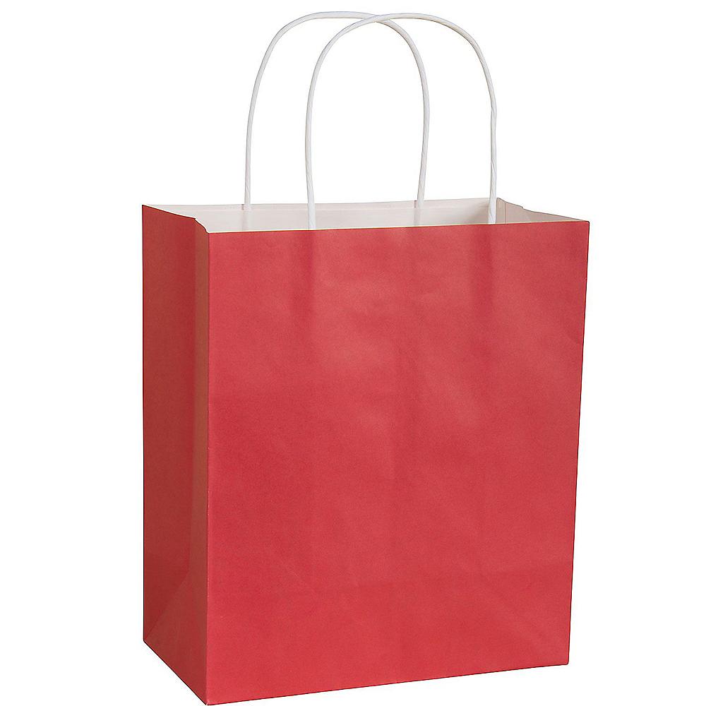 Large Red Kraft Gift Bag Image #1