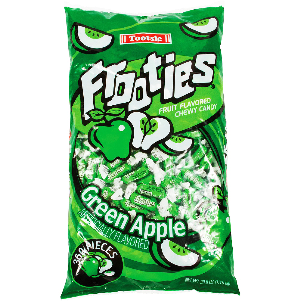 Green Apple Frooties Chewy Candy 360ct Image #1