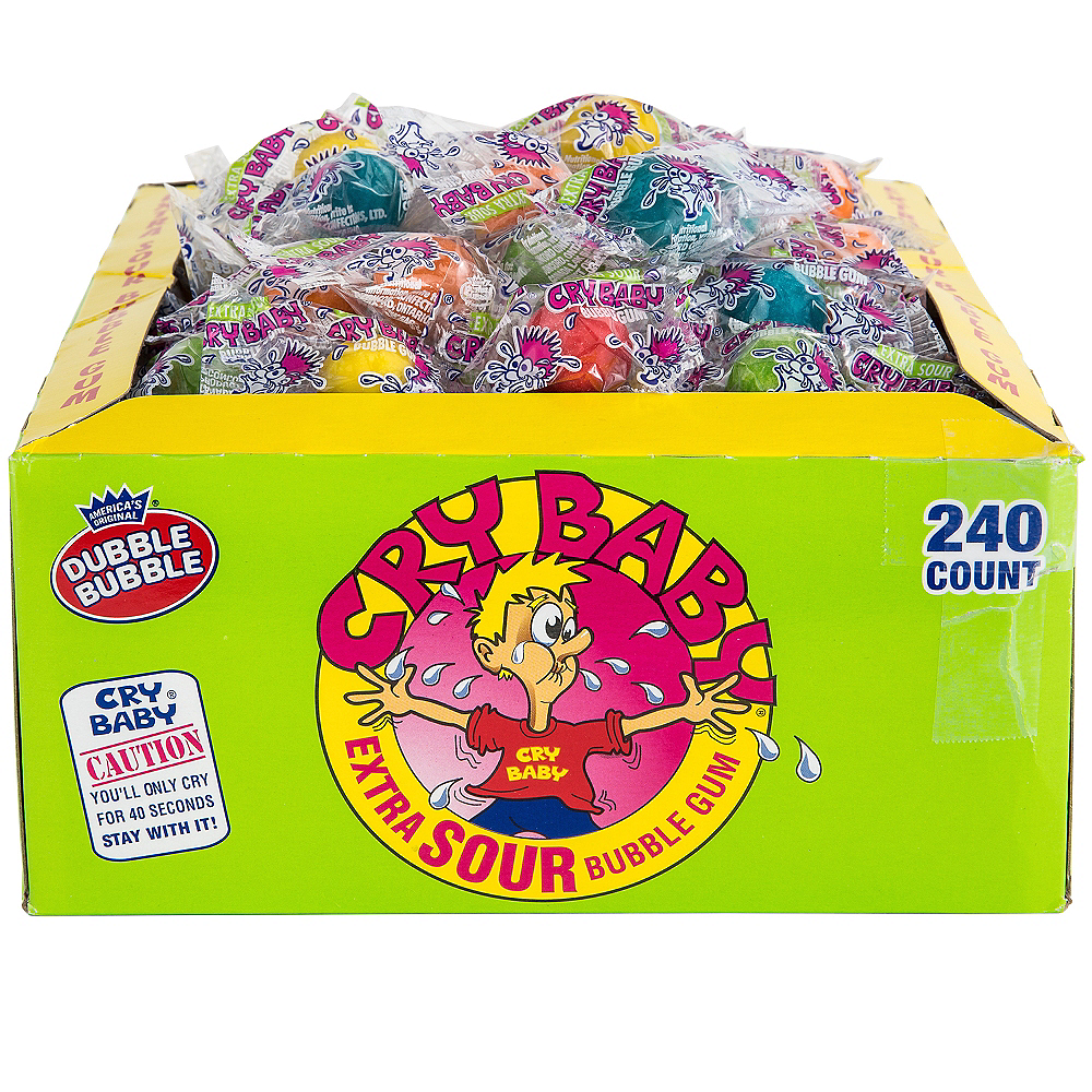 Cry Baby Bubble Gum 240ct Image #1