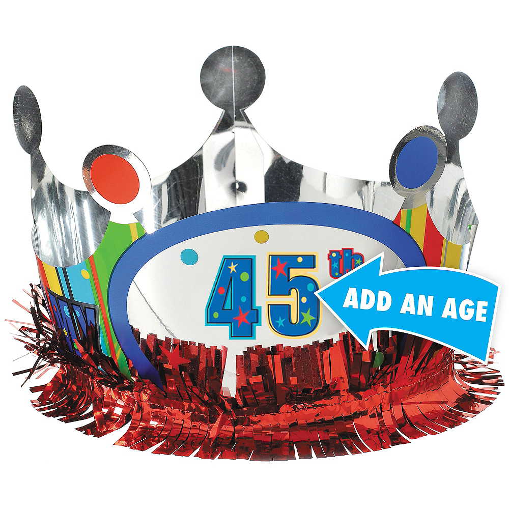 A Year to Celebrate Personalized Crown Image #1