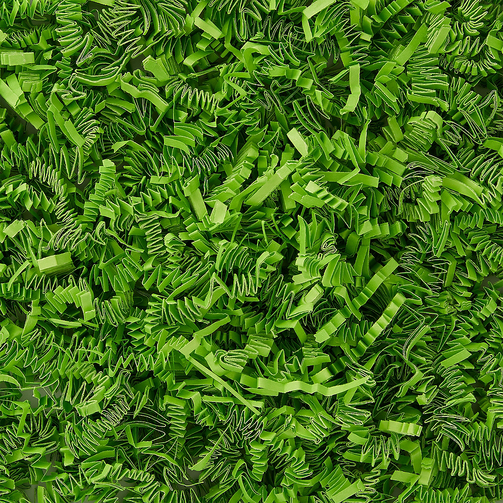 Green Crinkle Paper Shreds Image #1