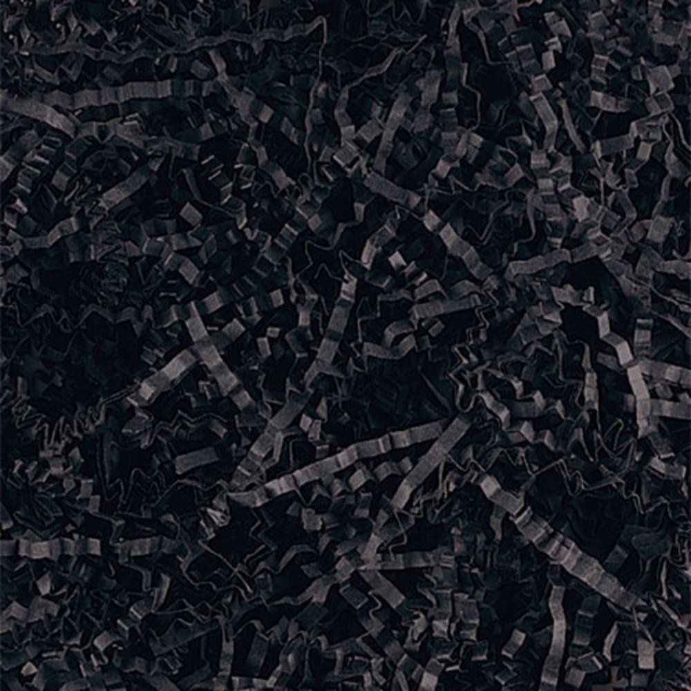 Black Crinkle Paper Shreds Image #1