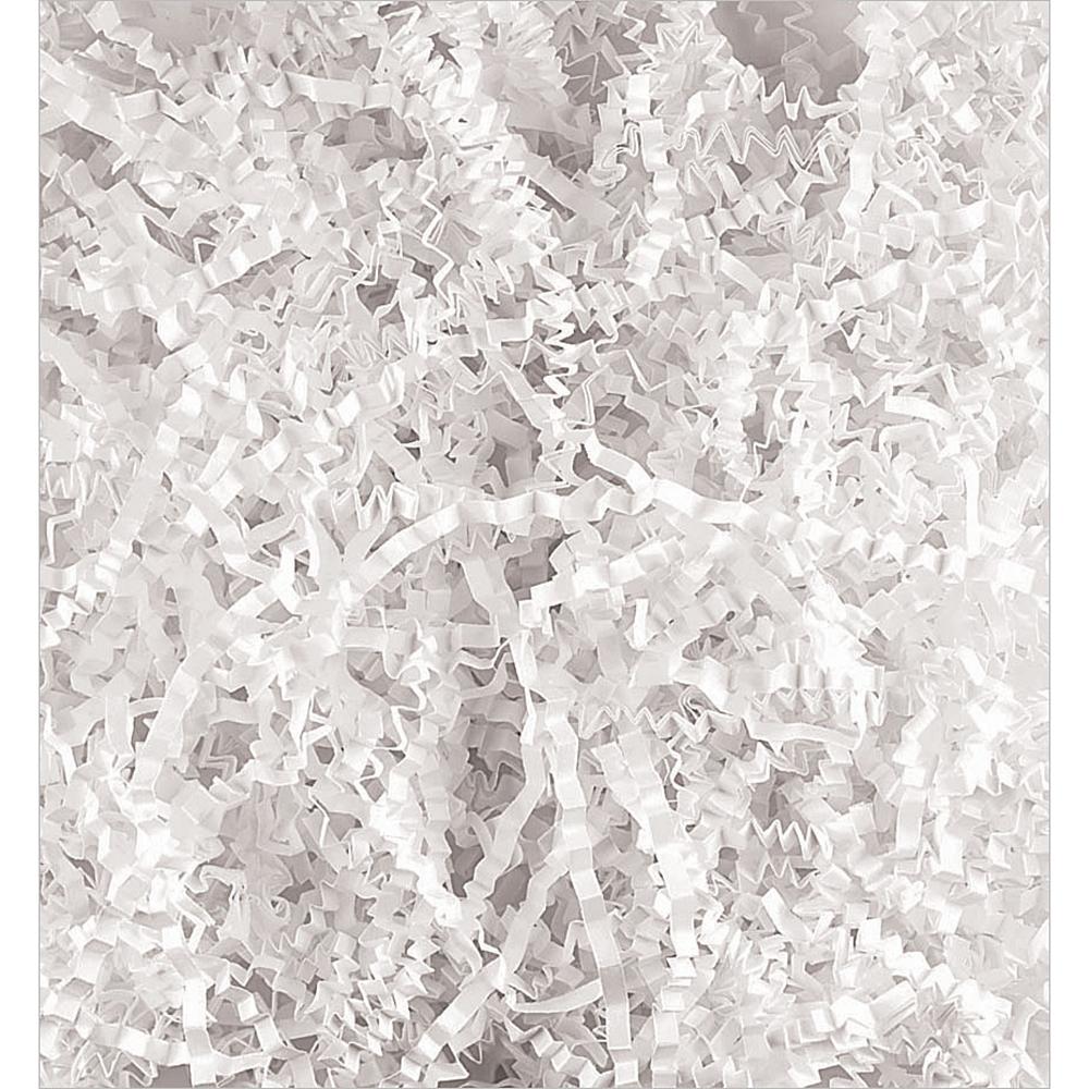 White Crinkle Paper Shreds Image #1